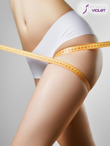 Shrinking Violet - Beautiful Slim Woman
